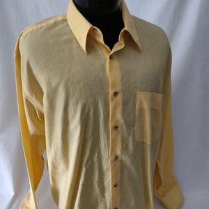 Yves Saint Laurent mens shirt. 16 1/2 34-35 nice!